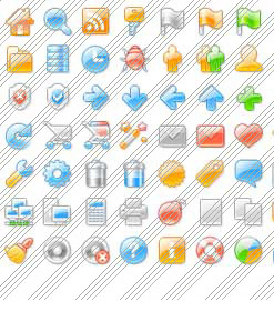 Expressions Design Create Vector Icon Dropdown Menu Frontpage