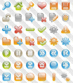Menu Desplegable Microsoft Expression Glass Icons Expression Design