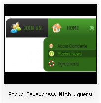 Popup Devexpress With Jquery Template
